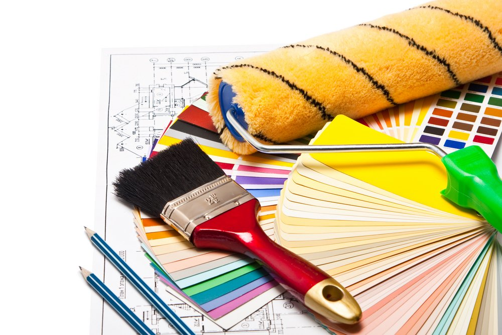 House paint buying tips for Wallpaper home renovation