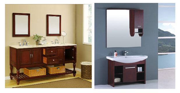 Bathroom Wood Vanity Furniture Renovation Ideas