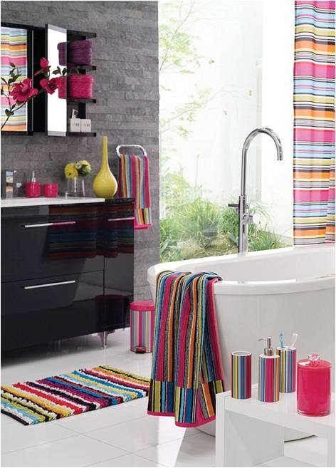 Interior How To Decorate Your Bathroom decorate your bathrooms with these trendy bath mats and rugs