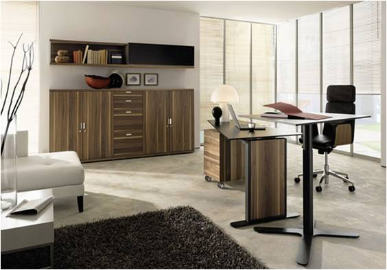 4 modern home office furniture designs that make work