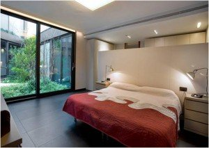 Both natural and artificial lighting control is important in a bedroom