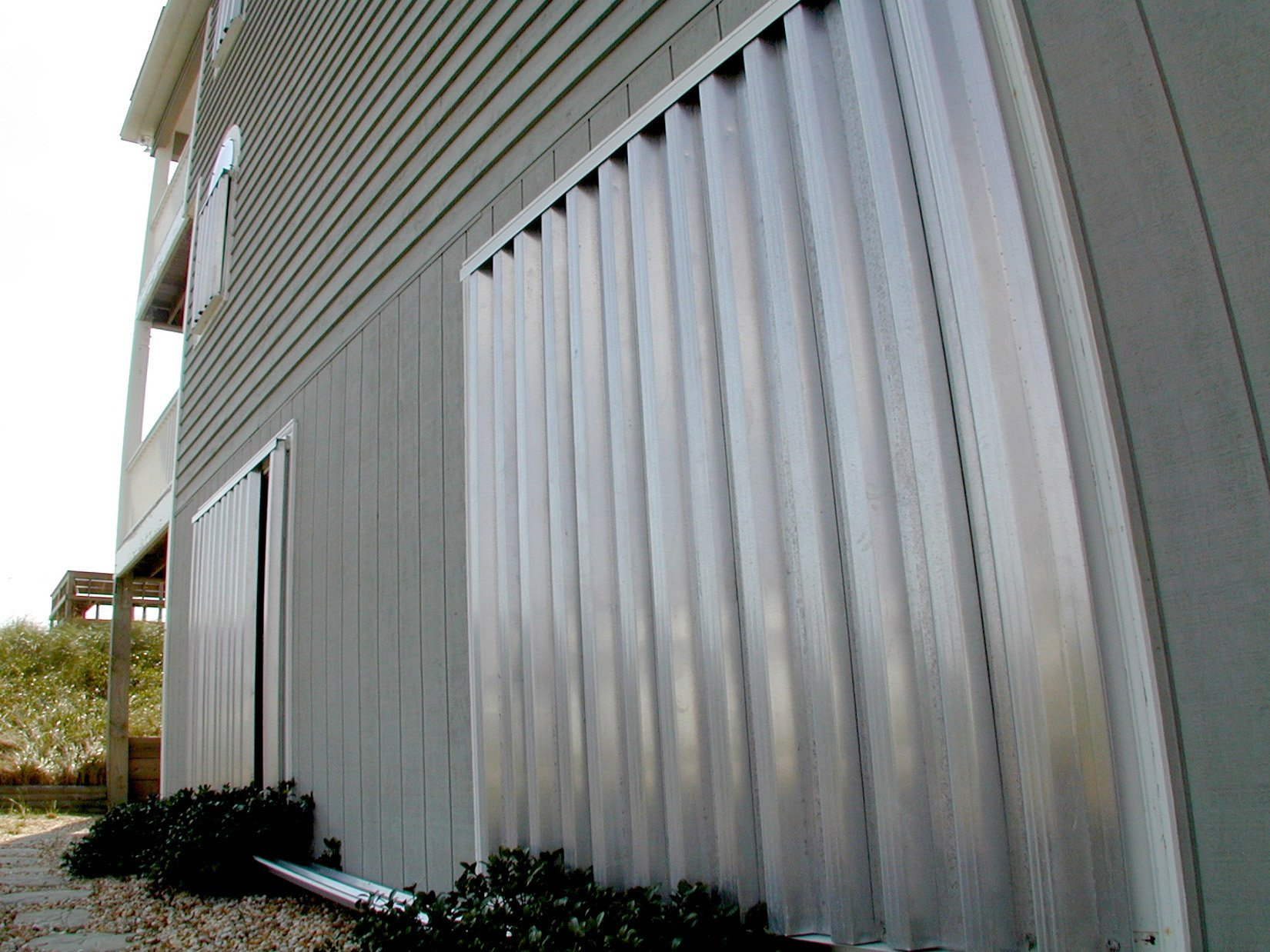 Storm Protection For Exterior Windows And Doors