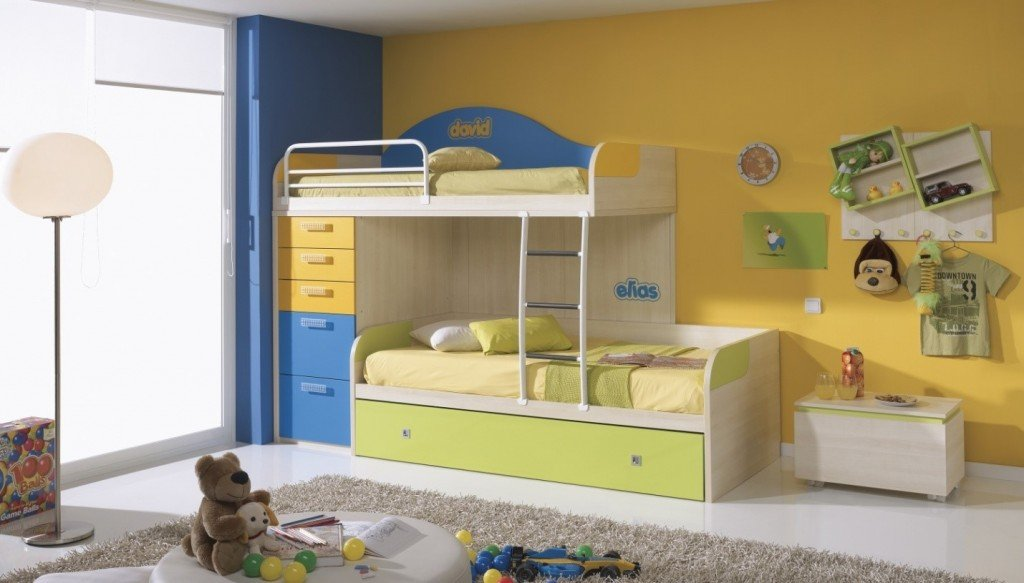 Children s Bedroom Catering Storage Issues in Bedrooms