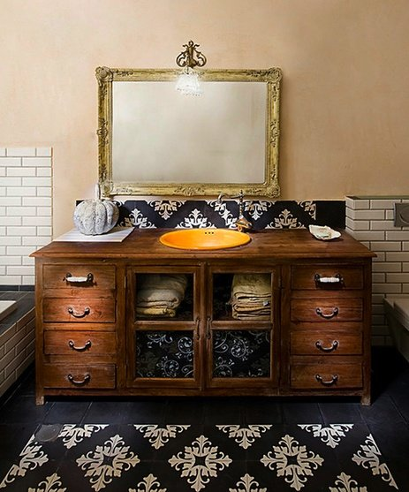 Furniture Reincarnation How To Turn Your Old Dresser Into A Bathroom Vanity