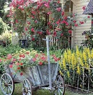 A Vintage Garden