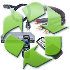 recycling electrical items