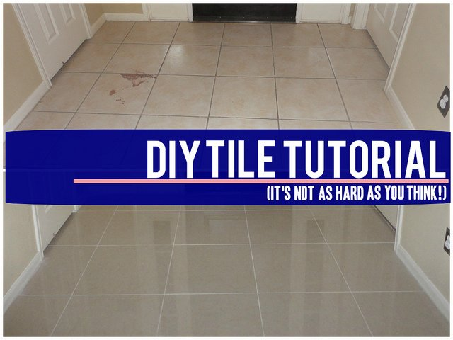 Do It Yourself Re Tile