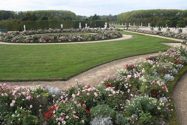 french style garden