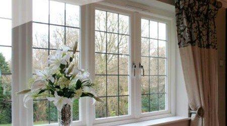 multi-paned windows