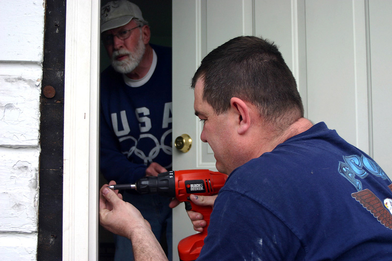 Installing a home lock