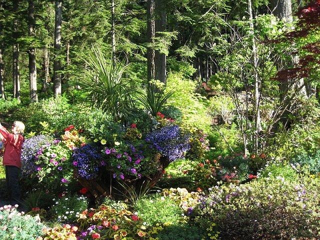 Perimeter plantings