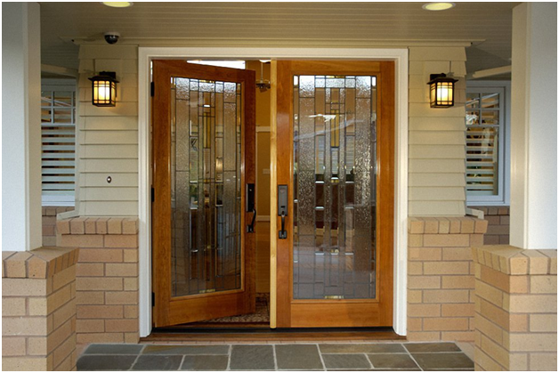 Give an elegant look to your front door with different for Elegant front doors