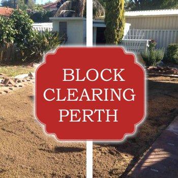 block clearing perth