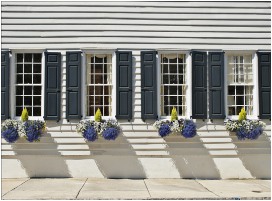 Winterizing your cape cod home new windows to keep the for Energy efficient bay windows