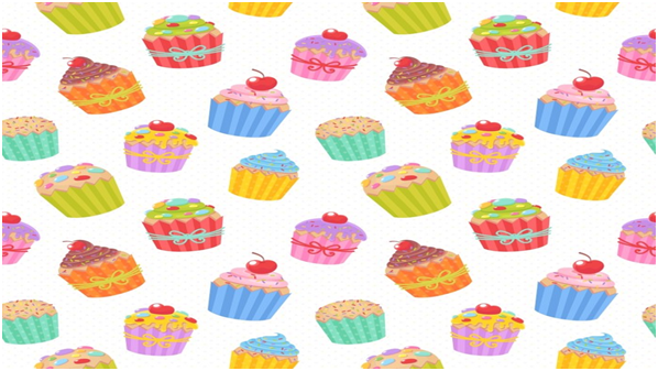 Cute Cupcakes Wallpaper