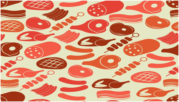 Ham and Meat Wallpaper