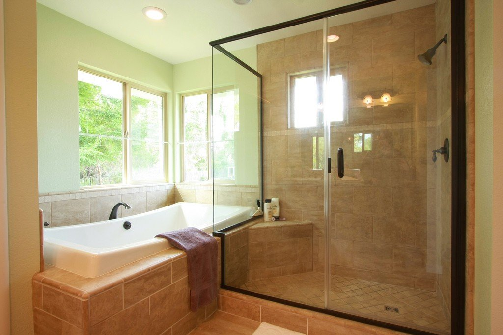 5 ideas for creating the perfect his and hers bathroom for Redesign bathroom online
