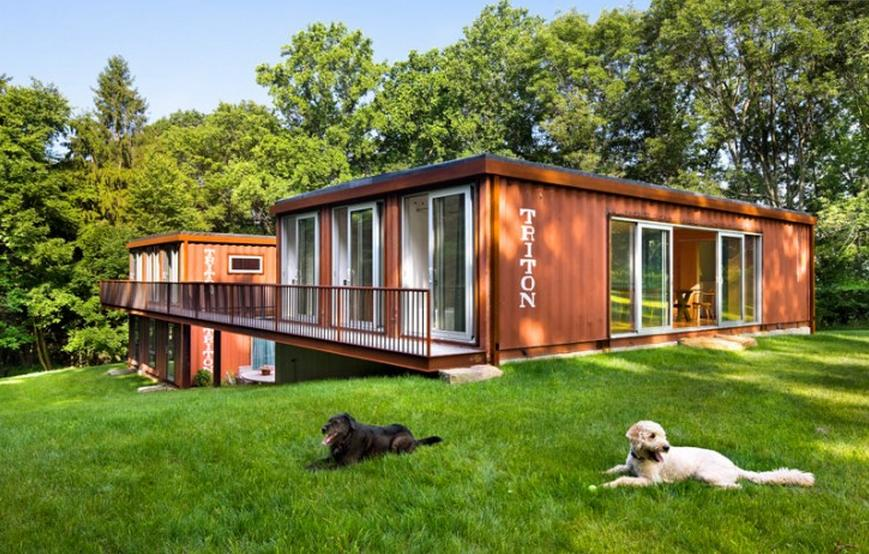 Houses Made Out Of Containers outside the box: the shipping container revolution