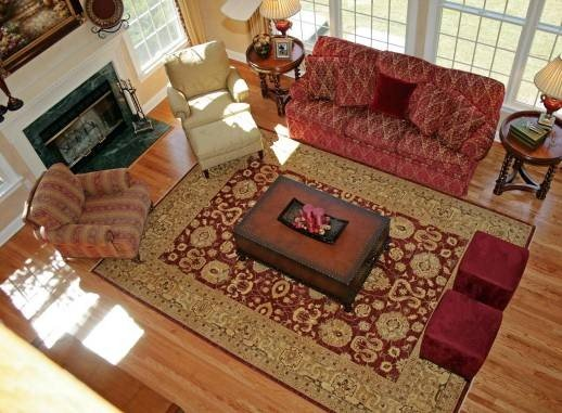 Tips To Place Rugs In Living Rooms