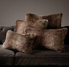 Faux-Fur-Pillows