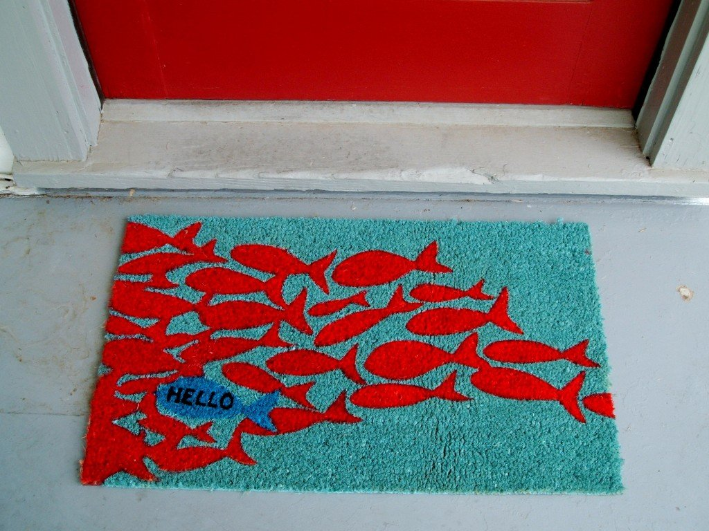 modern door mats – make your statement at the door -