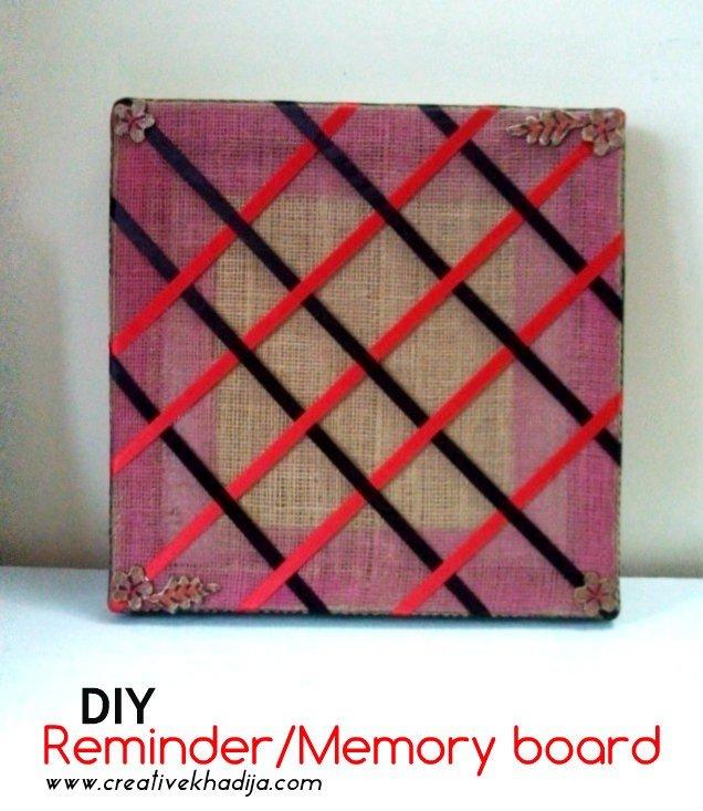 Twine memory board