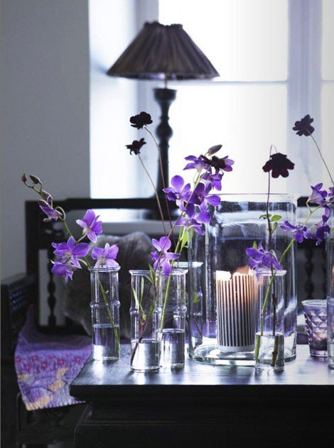 purple home decor ideas | dance-drumming