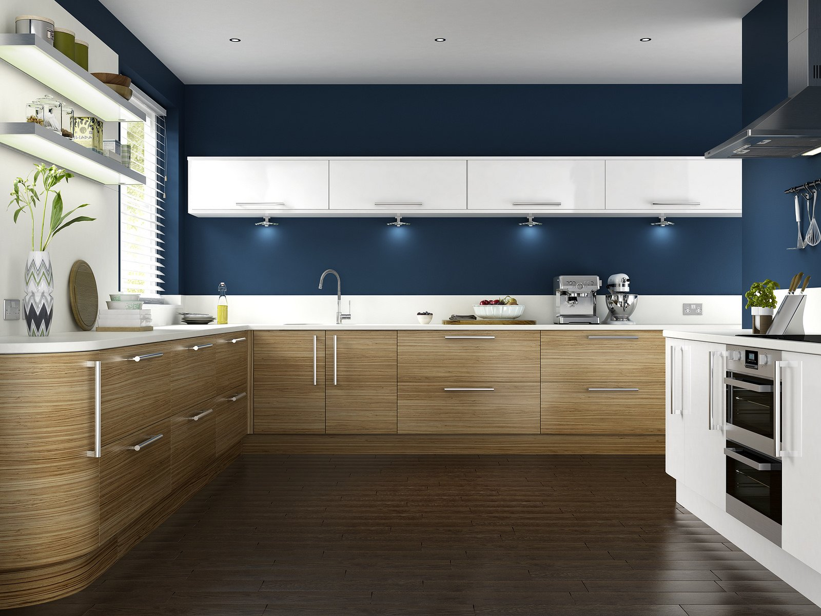 spruce up your kitchen dark vs bright colors