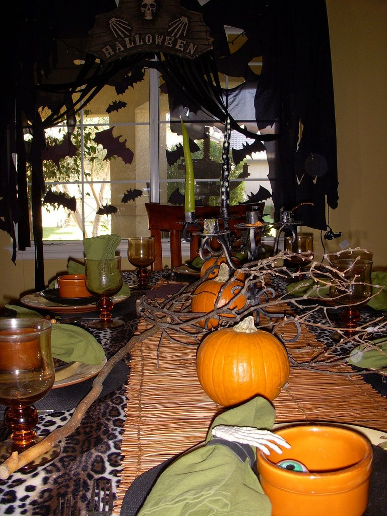 Exciting halloween home decor and furniture ideas
