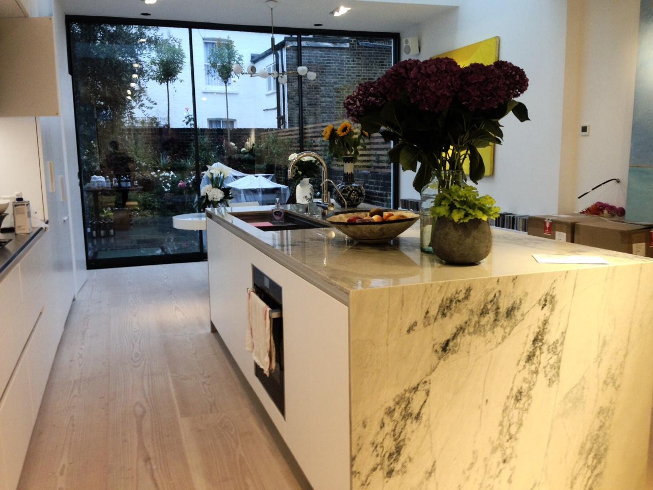 Quartzite Kitchen Worktops