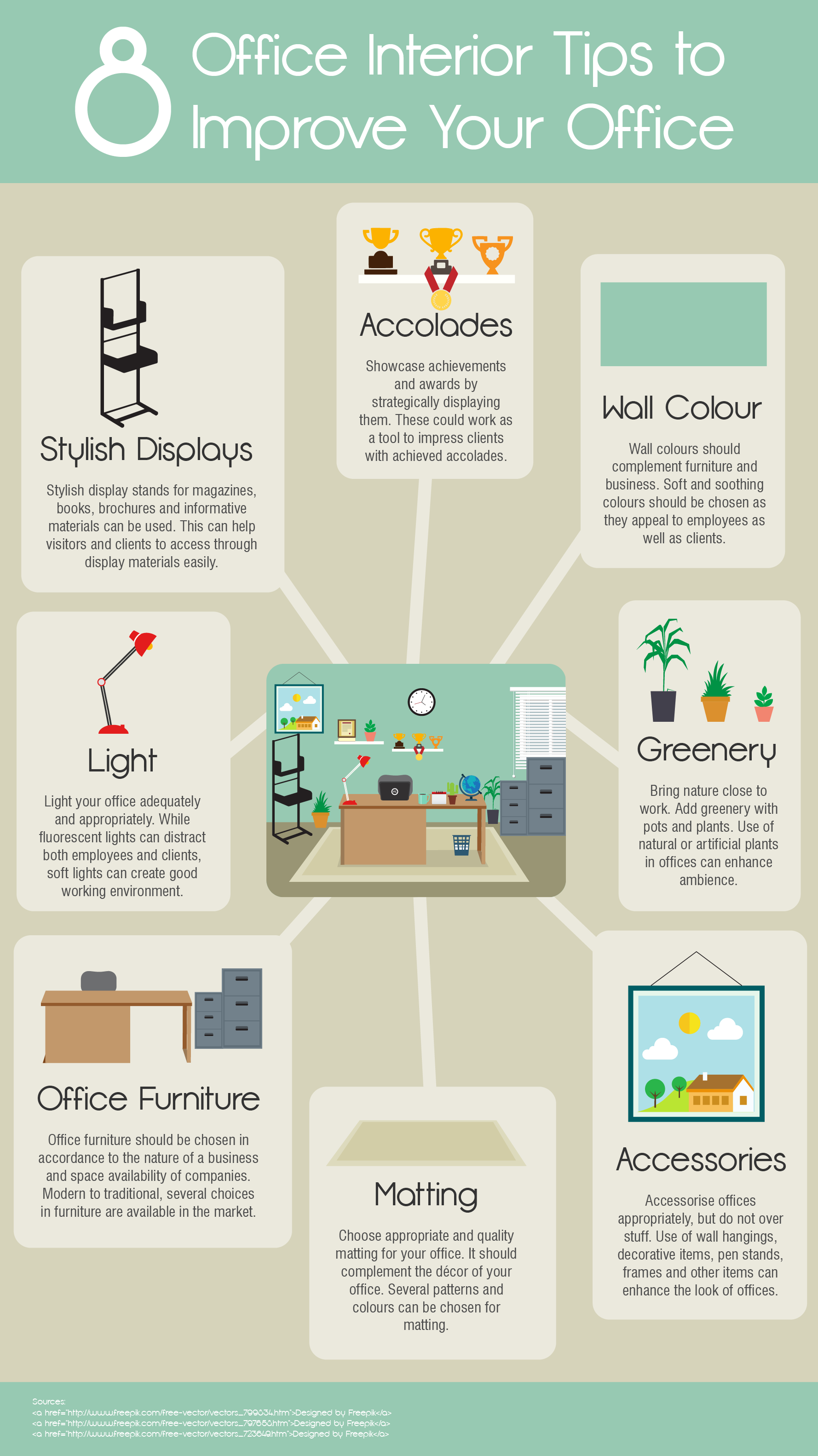 Furnish offices to create a safe and healthy work environment - Office opslag tip ...