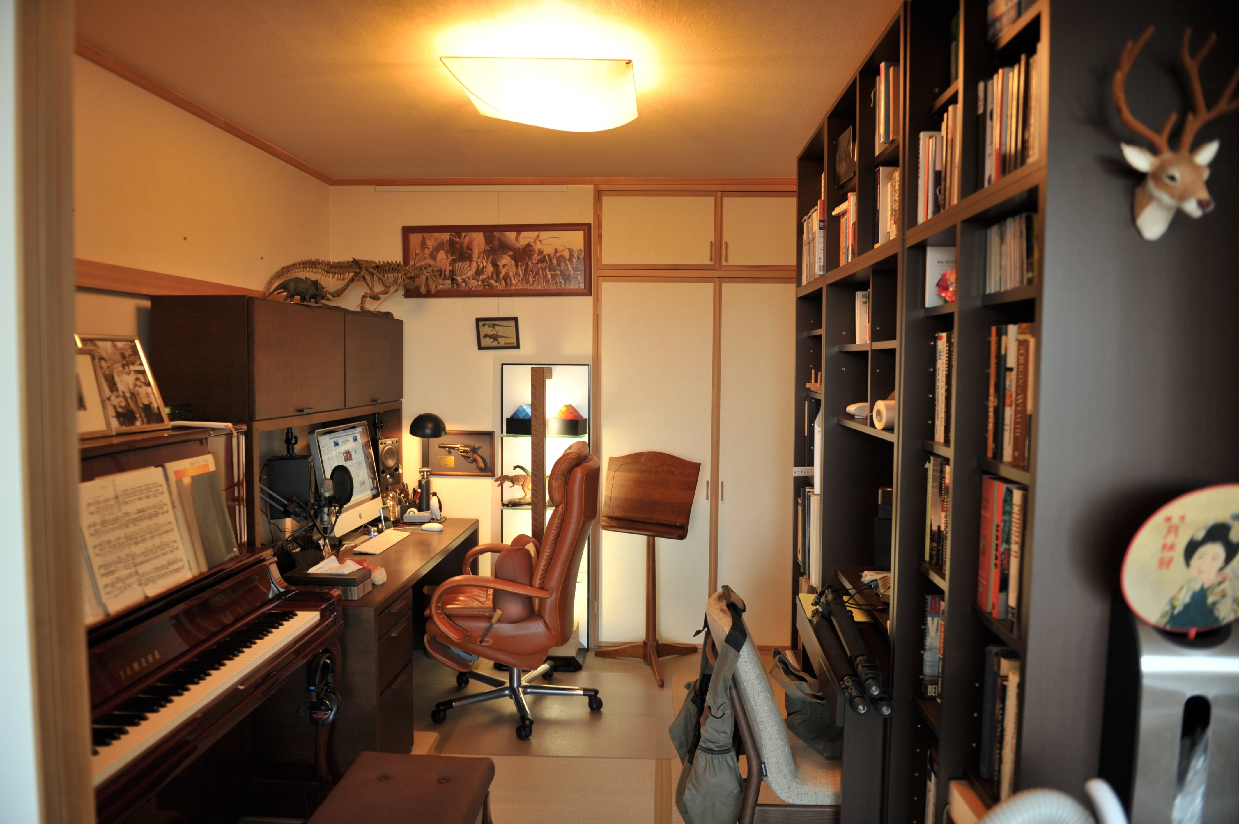 Convert your basement into a home office space for Office space basement