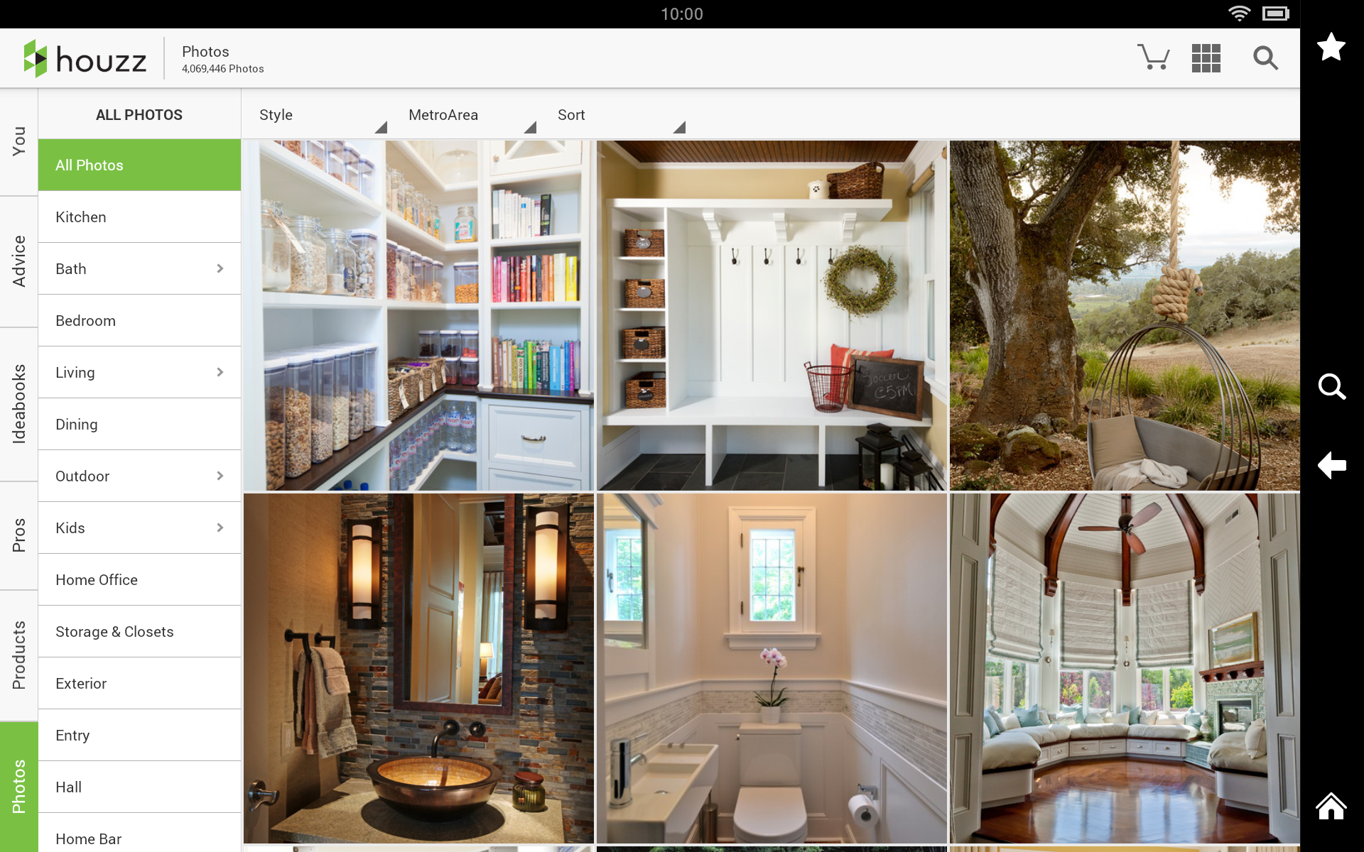 5 free apps to help your diy home improvement project for Houzz interior design ideas
