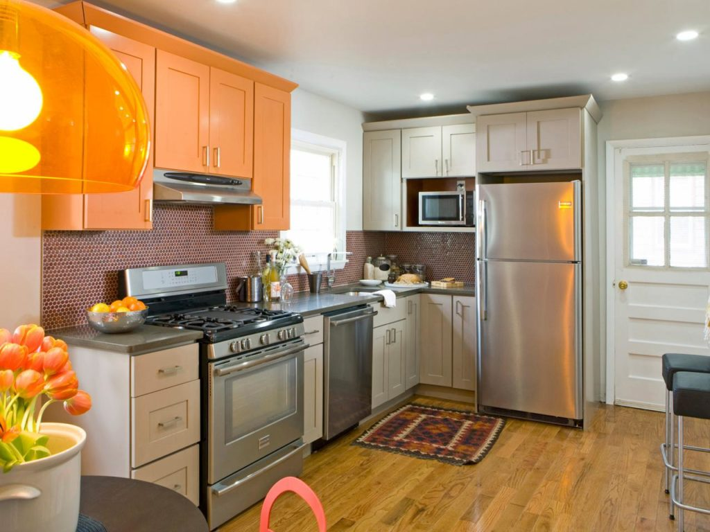 vibrant kitchen colors