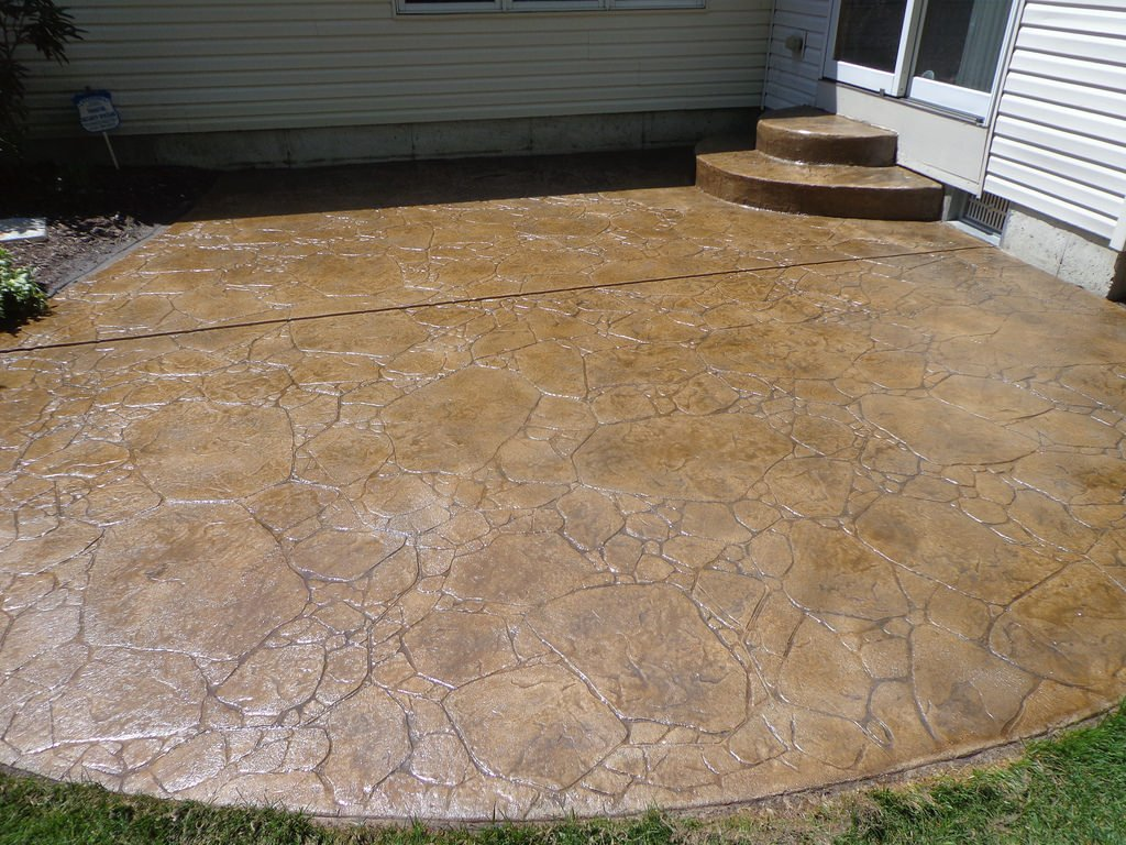 What Is The Difference Between Stamped Concrete And Stained Concrete how to maintain stamped concrete to ensure long life
