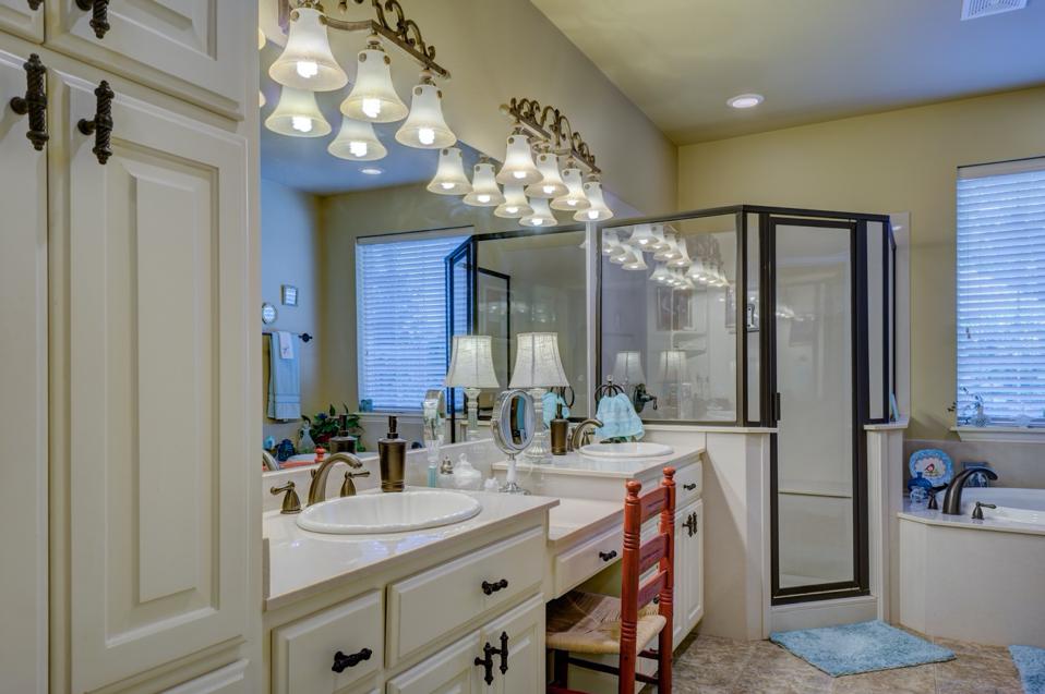 home decor large bathrooms
