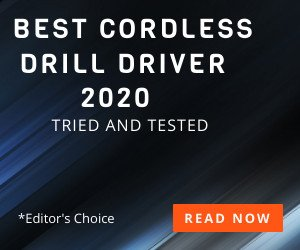 best cordless drill driver 2020