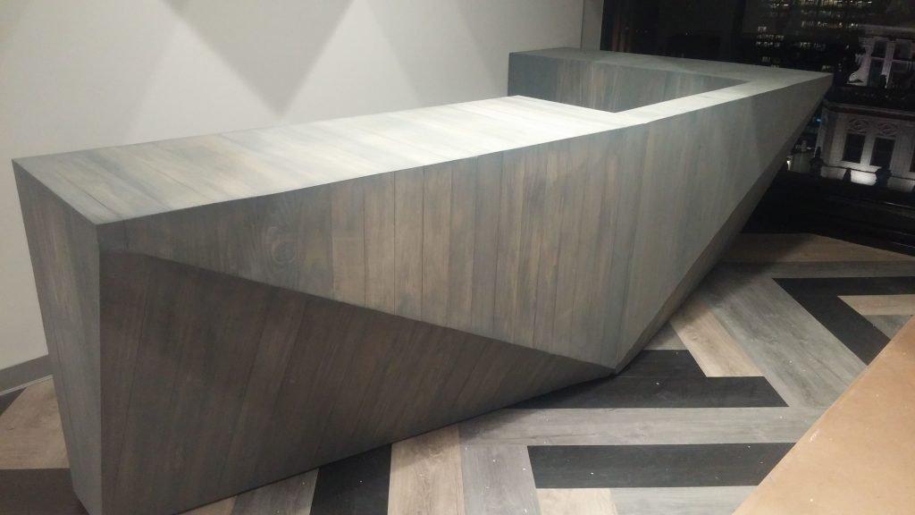 Reception desk design ideas
