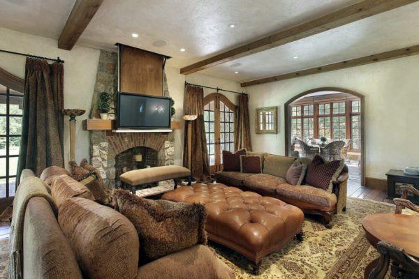 earthy living room ideas
