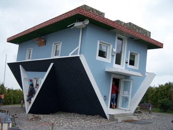 strange homes